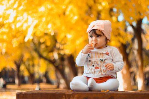 Beautiful little baby
